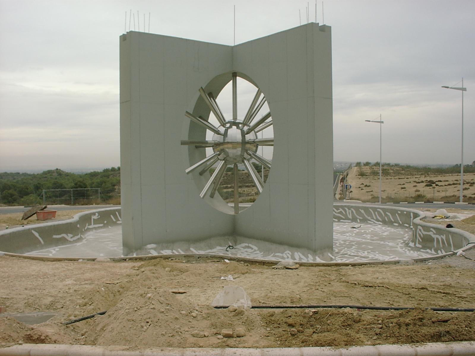 Diseño rotonda