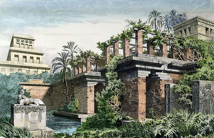 Los jardines antiguos