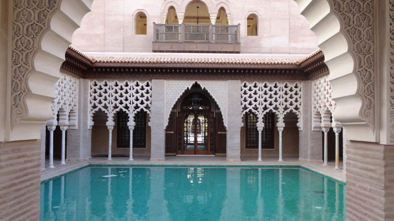Jardín de estilo árabe